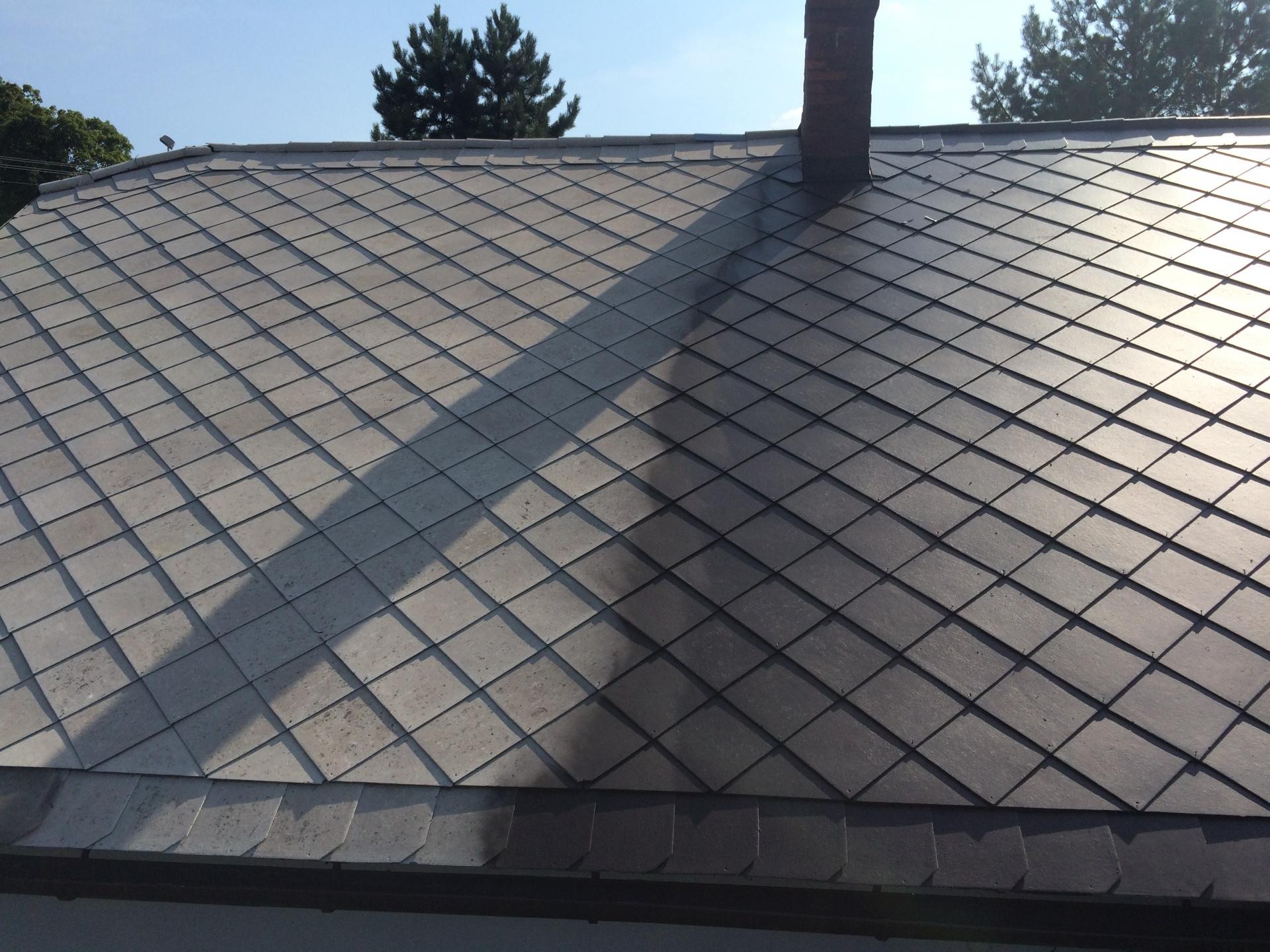 čištění střechy a mytí fasád